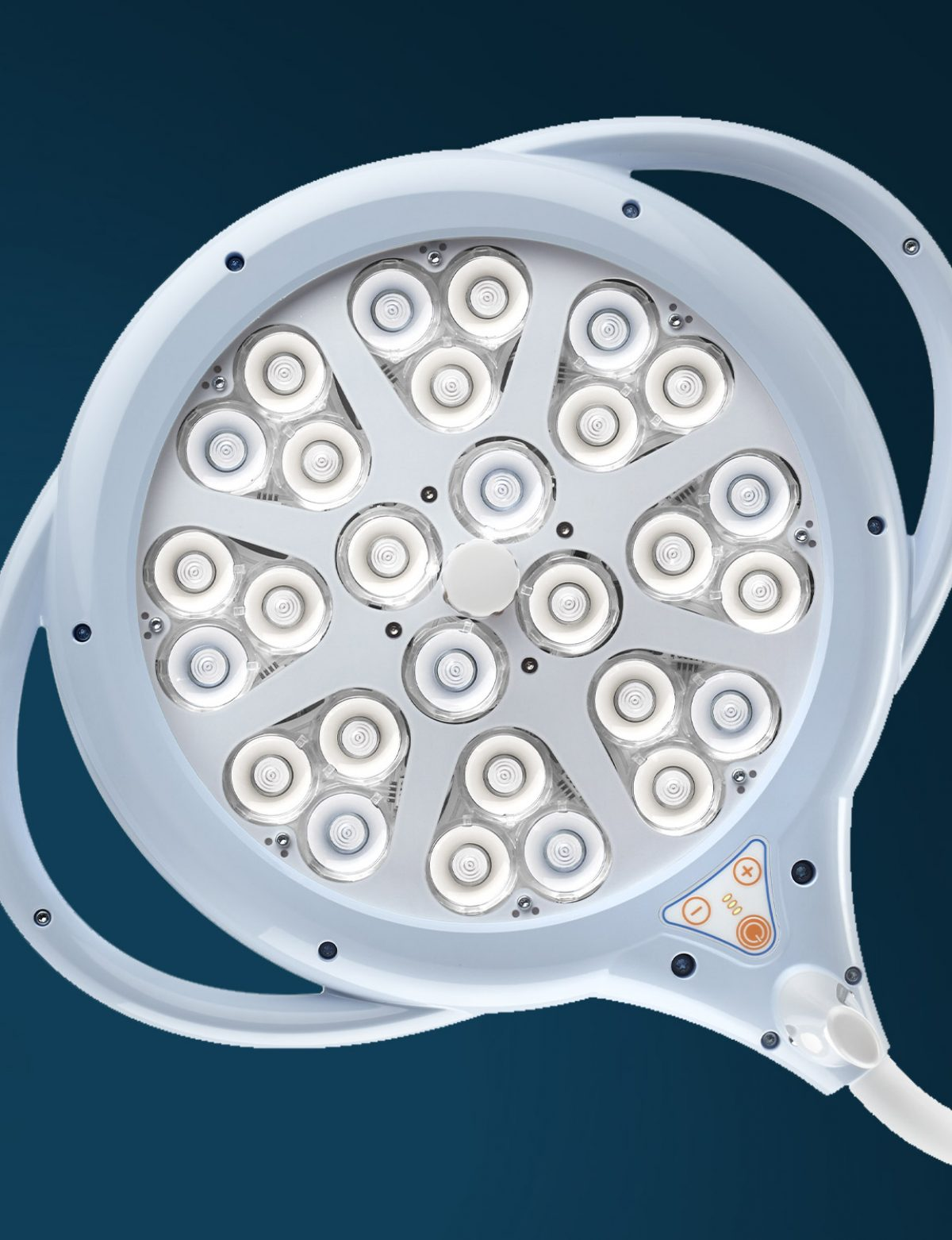 A concentration of unparalleled performance technology, the best for a lamp for ambulatories and minor surgery.
